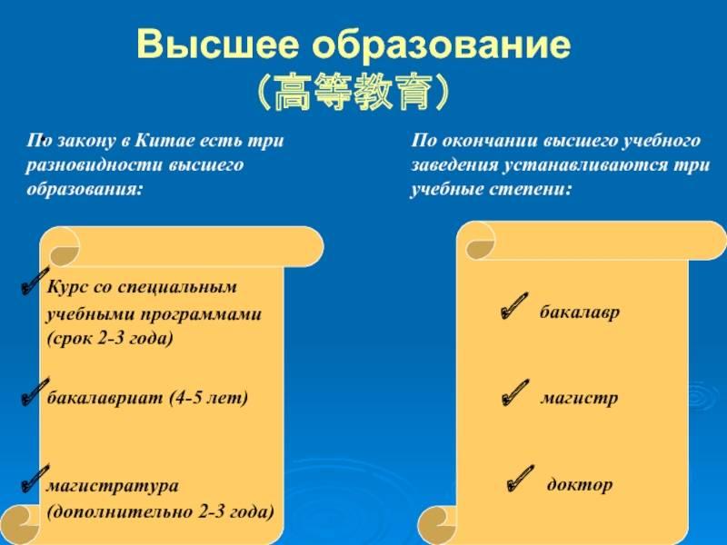 Дошкольное образование в китае