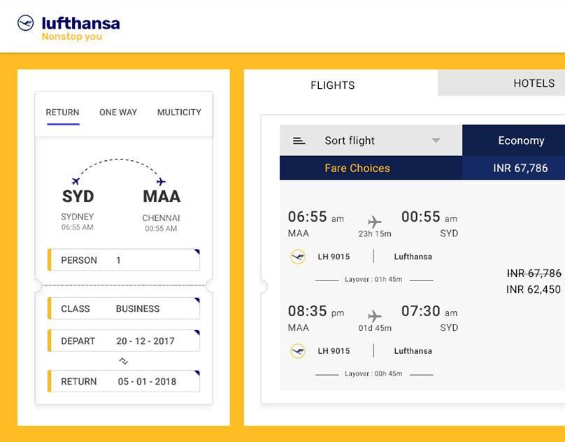 Регистрация онлайн на рейс люфтганза