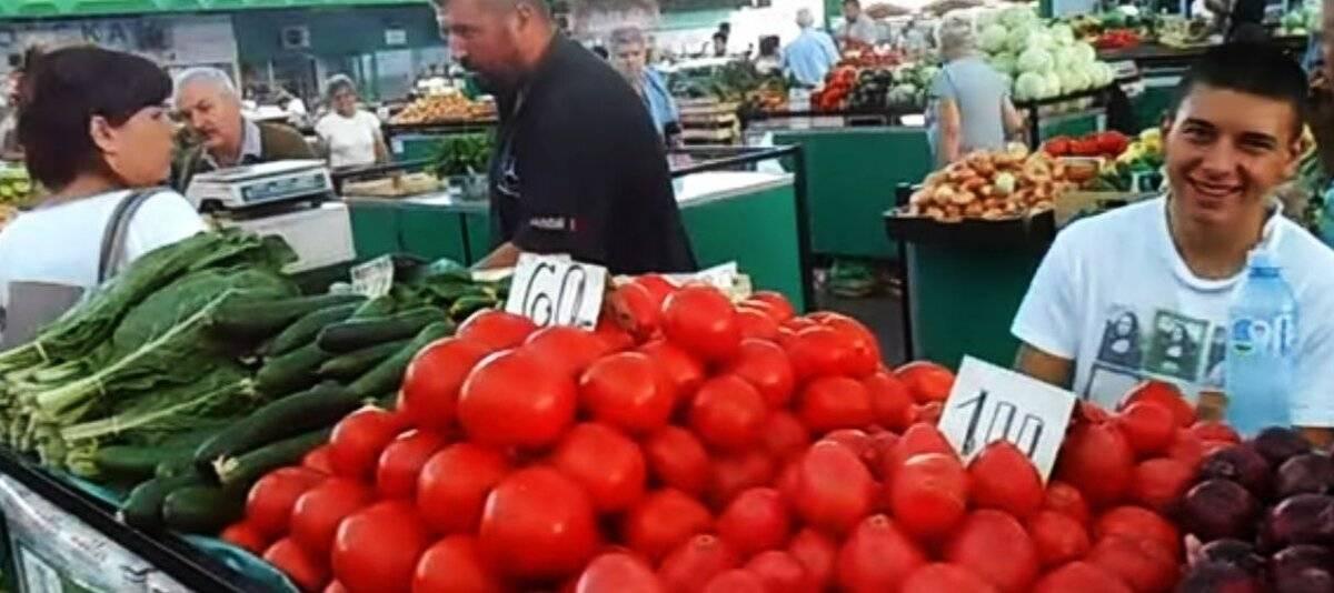 Цены на продукты в Сербии