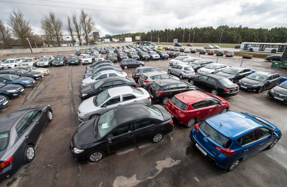 Правила покупки машины на автобазаре в польше