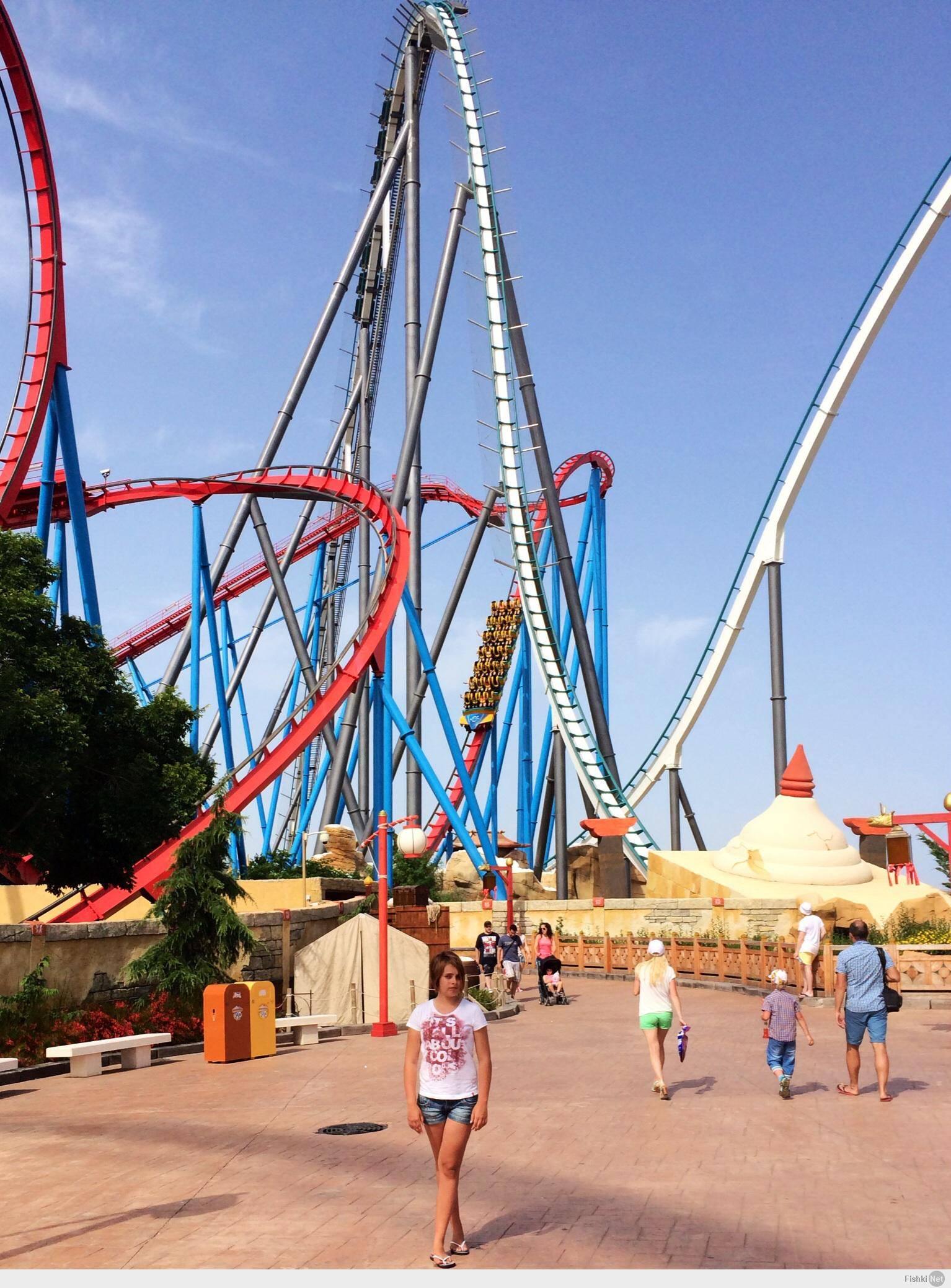 2000 гектар лучших развлечений в европе за 45 евро: парк порт авентура