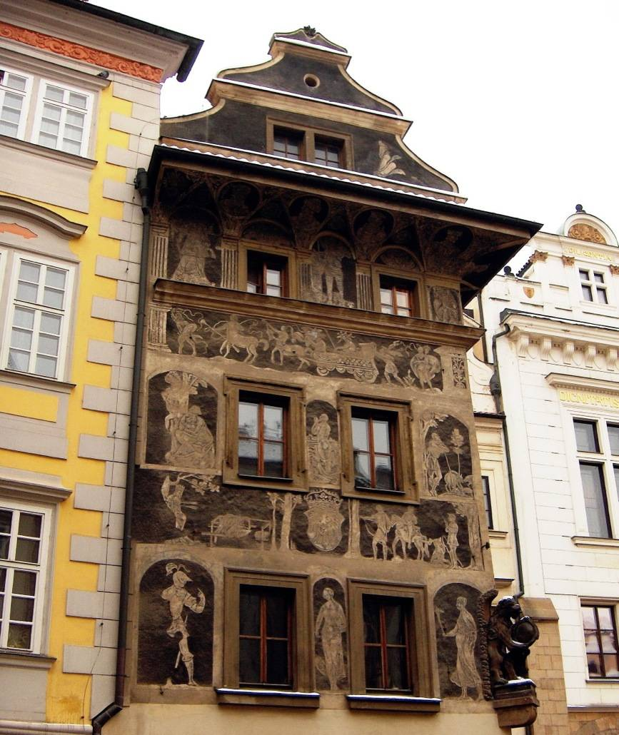 Архитектура в праге (чехия) - описание и фото