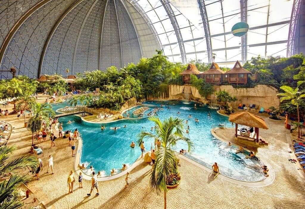 Самый большой аквариум в мире: «аквадом» в берлине, германия