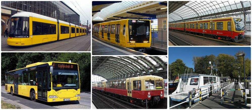 Общественный транспорт в берлине