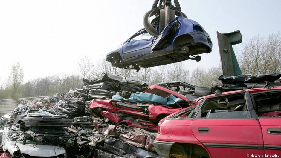 Утилизация автомобилей в германии