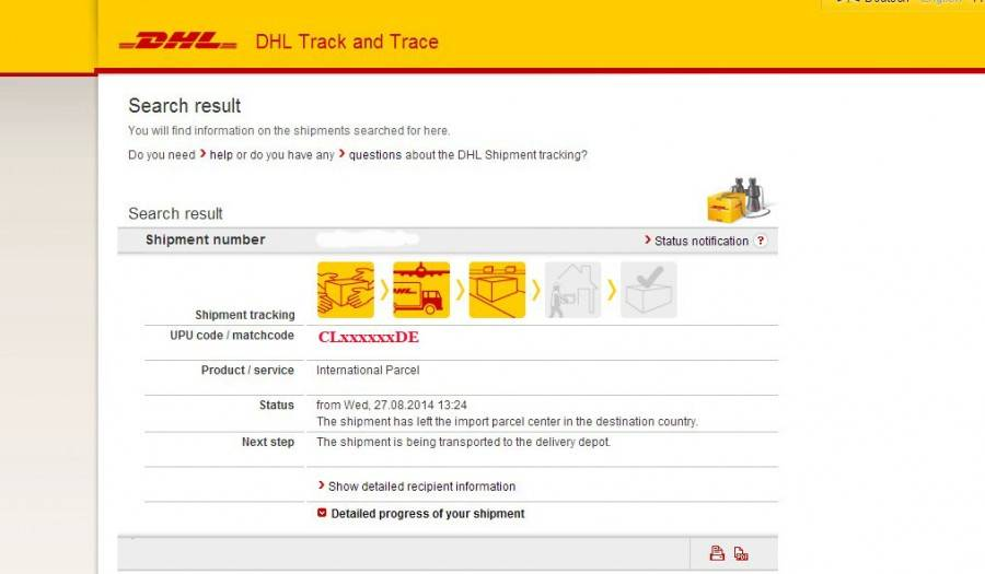 Отслеживание почтовых отправлений, посылок из китая, сша, россии, германии