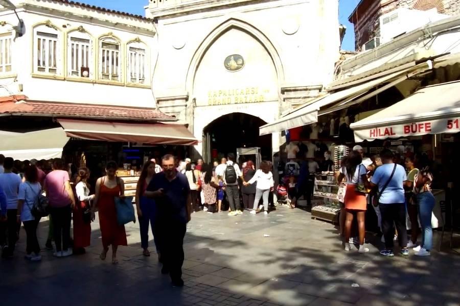 Гранд базар — самый известный рынок стамбула и турции