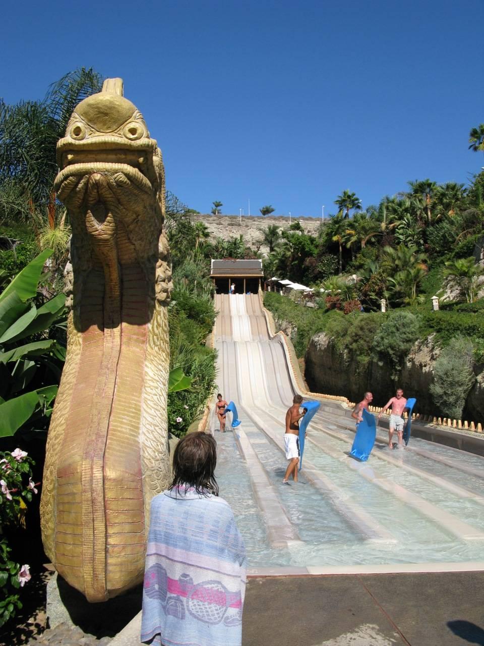 Сиам парк — лучший аквапарк европы на о. тенерифе