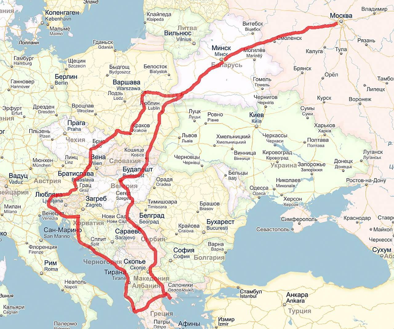 В германию на машине 2021: маршруты, документы, что нужно знать?