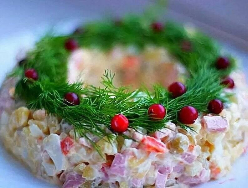 Берлинский салат, как украшение любого стола: рецепт