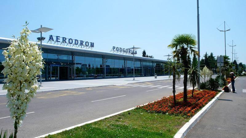 Аэропорты черногории
