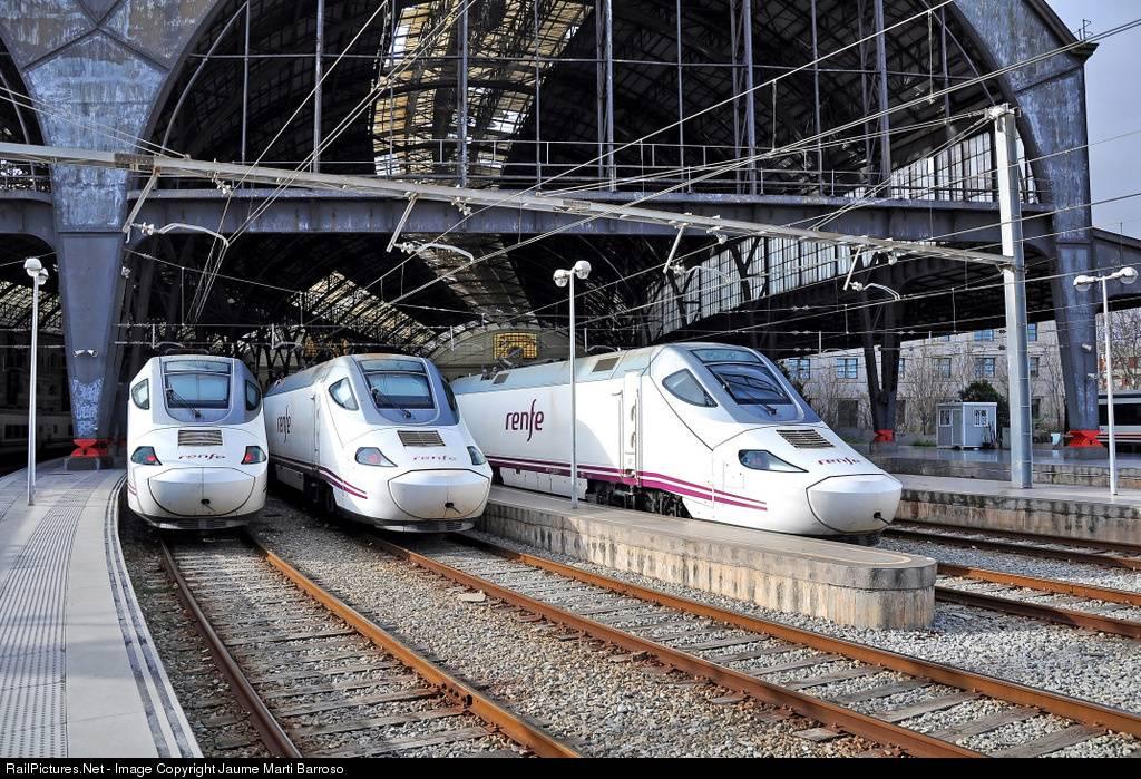 Поездом по испании