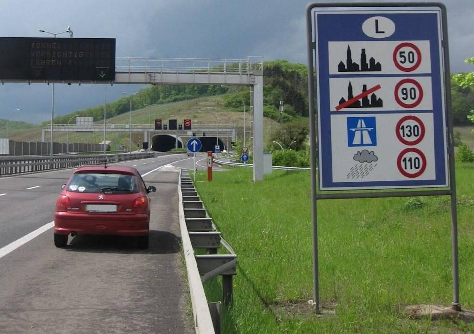 Автобаны в германии: какая разрешена скорость?