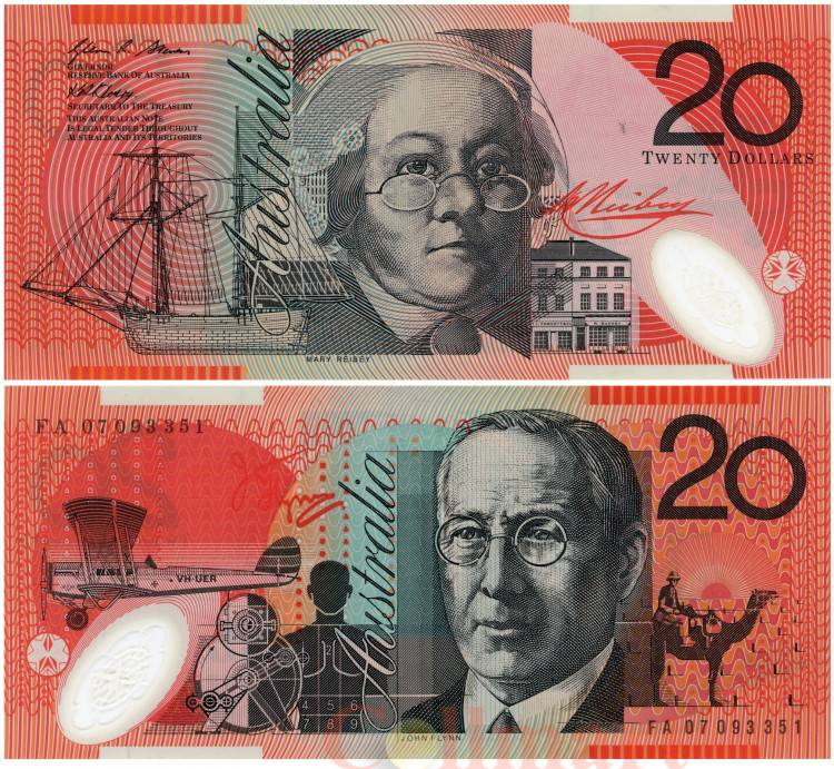 Валюта австралии - австралийский доллар