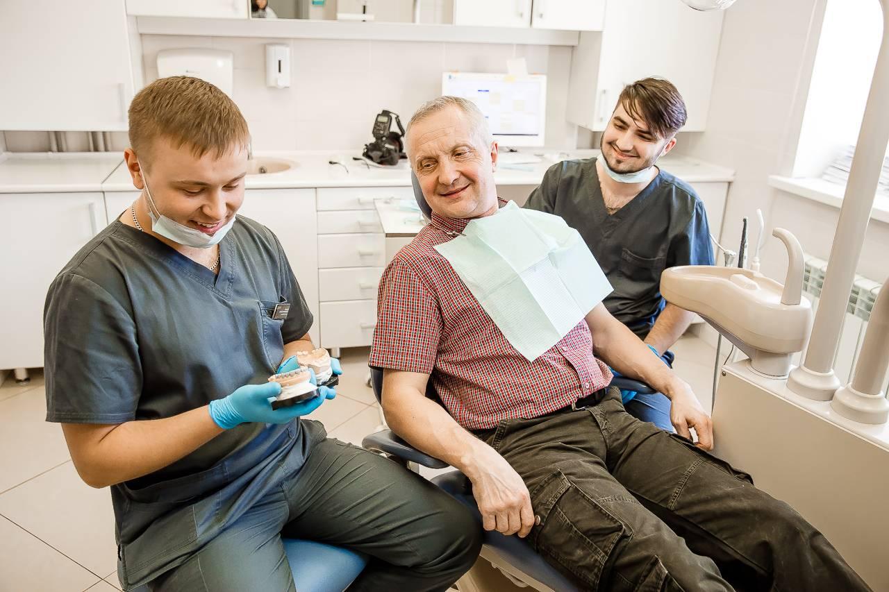 Съемное протезирование зубов в израиле