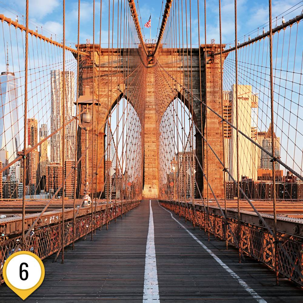 Бруклинский мост: история строительства и где находится
