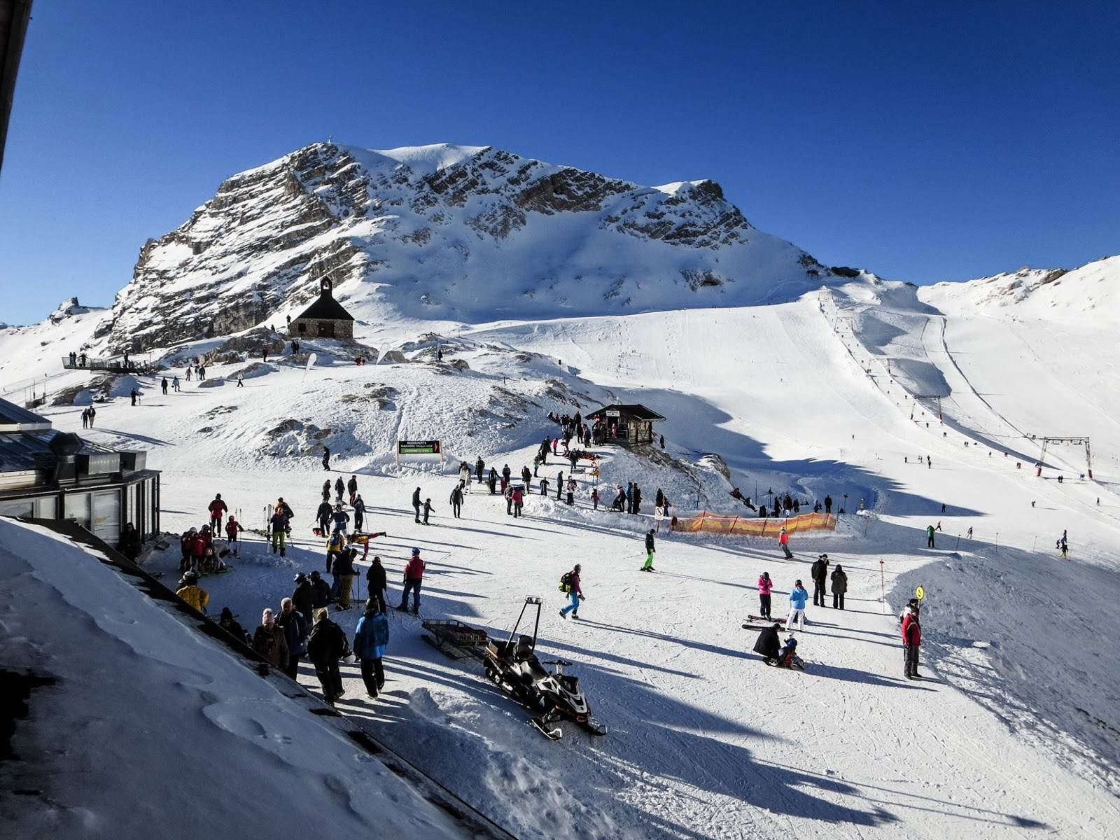 Гармиш партенкирхен, цугшпитце | горнолыжный информационный портал fanski.ru – фанаты горных лыж.