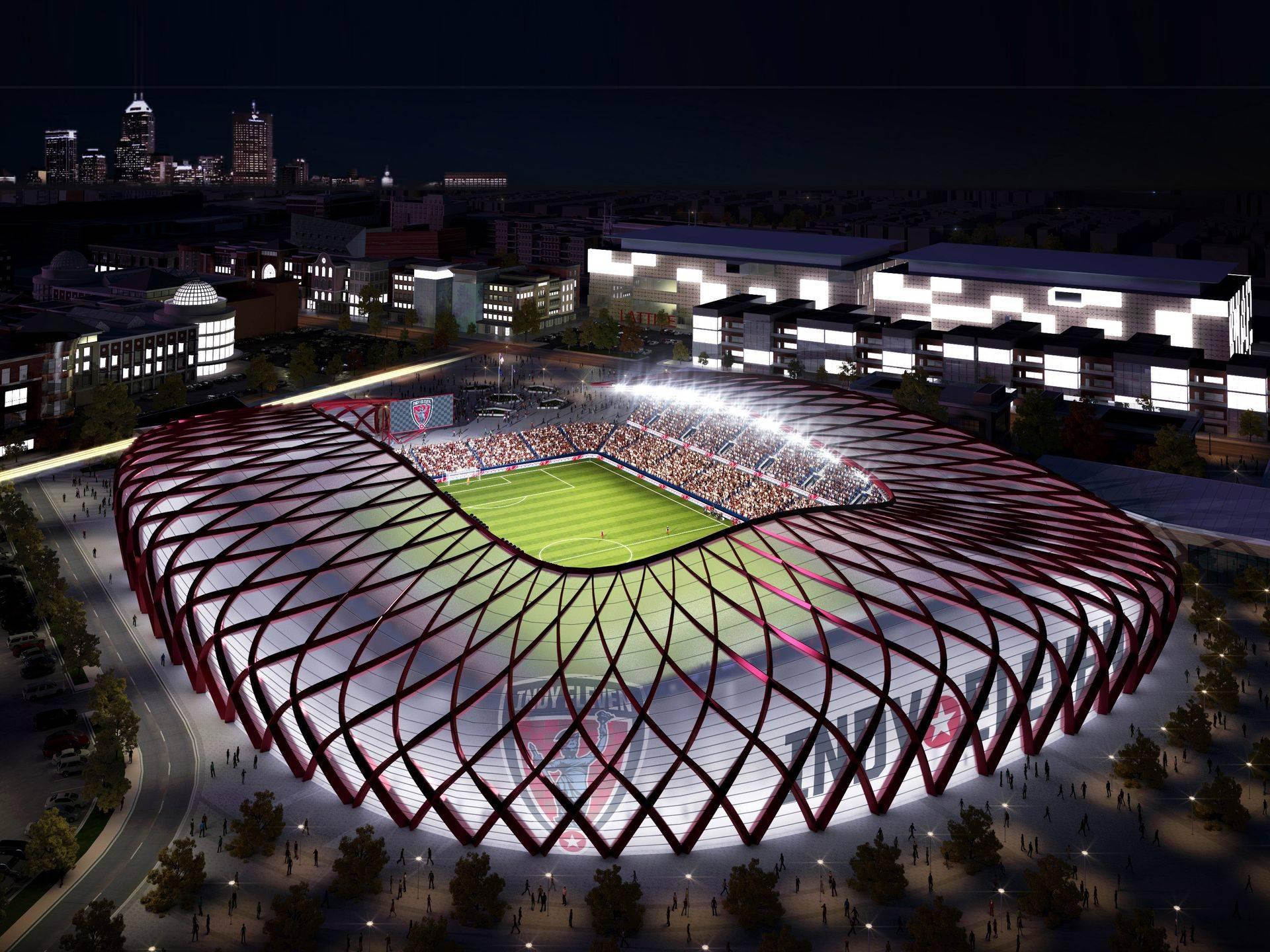 Самые большие футбольные стадионы. топ-10