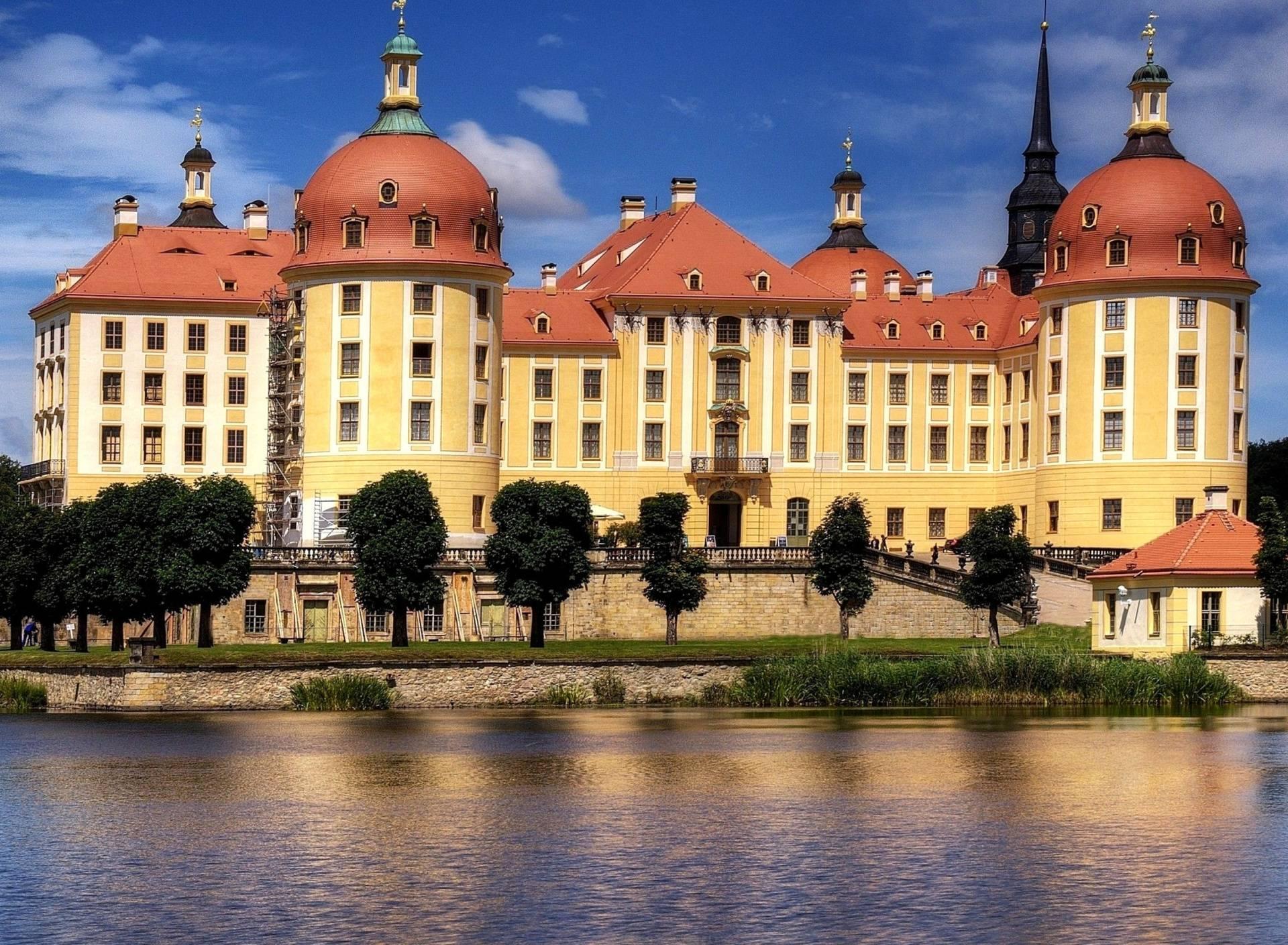 Экскурсии из дрездена, замок морицбург (видео)