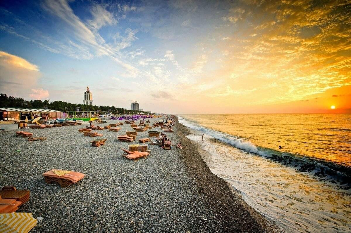 Отдых на море в грузии — 2021. лучшие курорты + цены