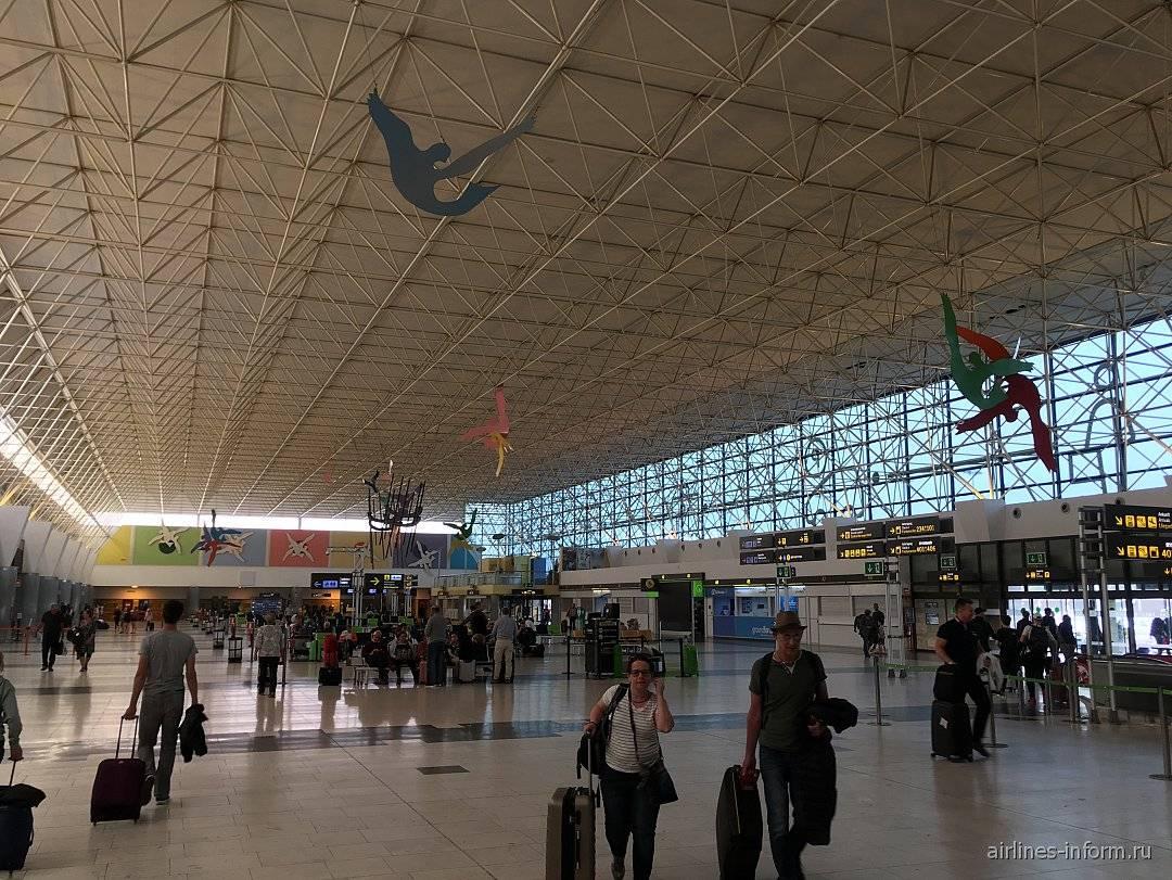 Аэропорт на гран канария
