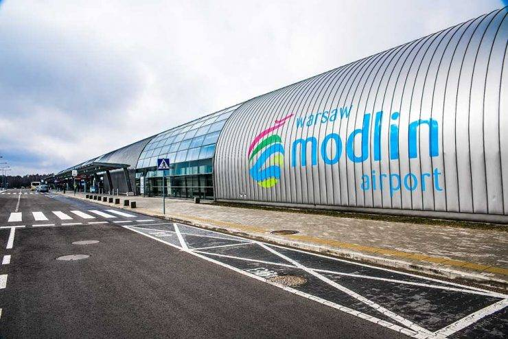 Как добраться в аэропорт модлин (modlin) варшава