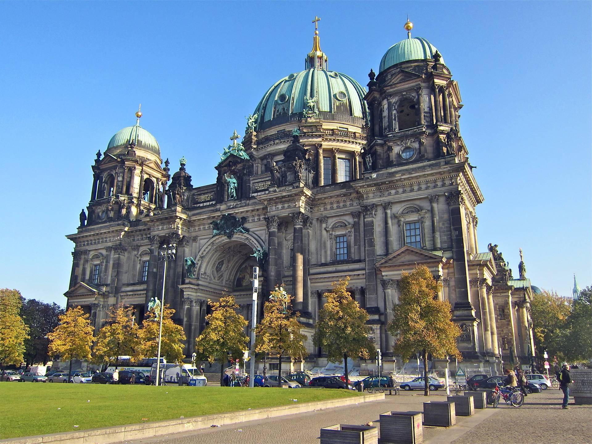 Кафедральный собор фрауэнкирхе в дрездене— символ протеста и возрождения