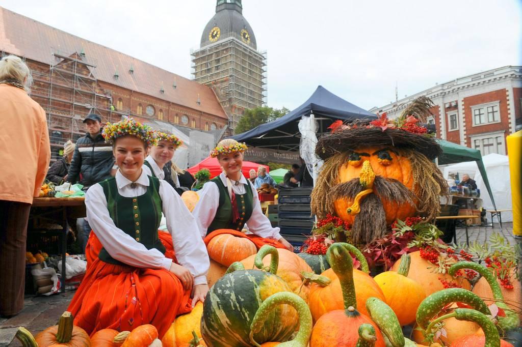 Праздник благодарения за урожай в Германии