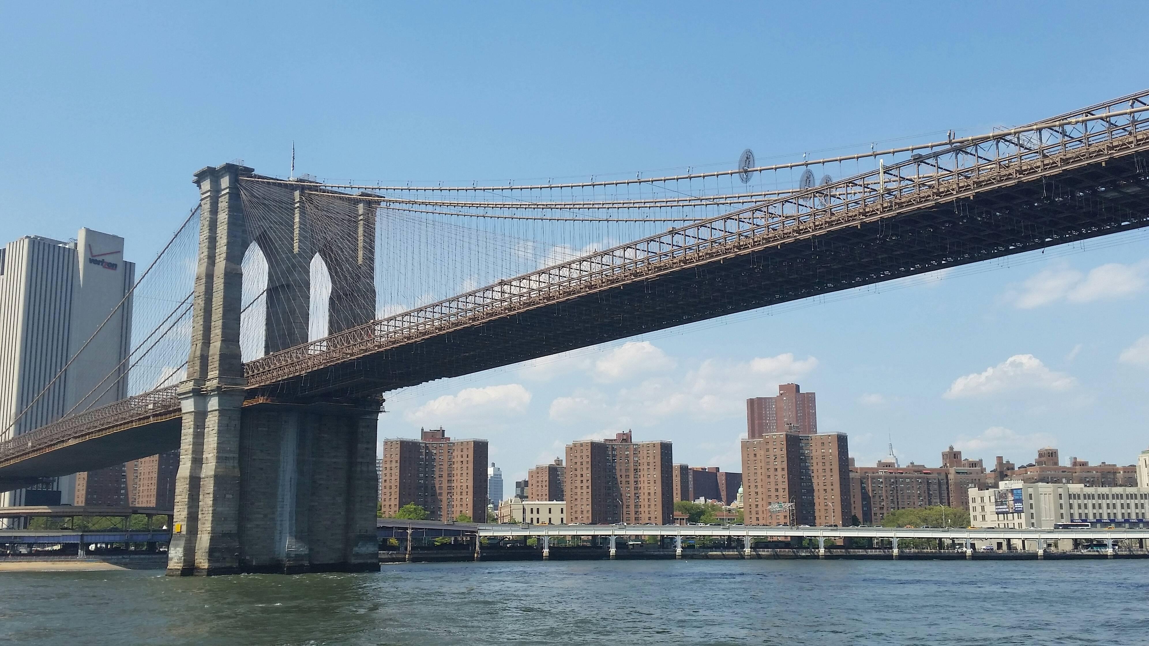 Бруклинский мост внью-йорке— где находится, на карте, история, экскурсии, отели рядом, как добраться на туристер.ру