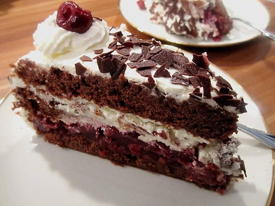 Торт черный лес (шварцвальд): классический немецкий рецепт и 5 варианта приготовления в домашних условиях - ampica.ru
