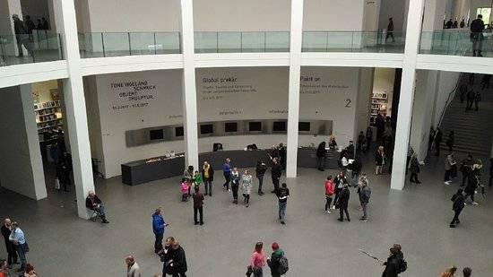 Пинакотека современности, мюнхен (pinakothek der moderne) - музей современного искусства