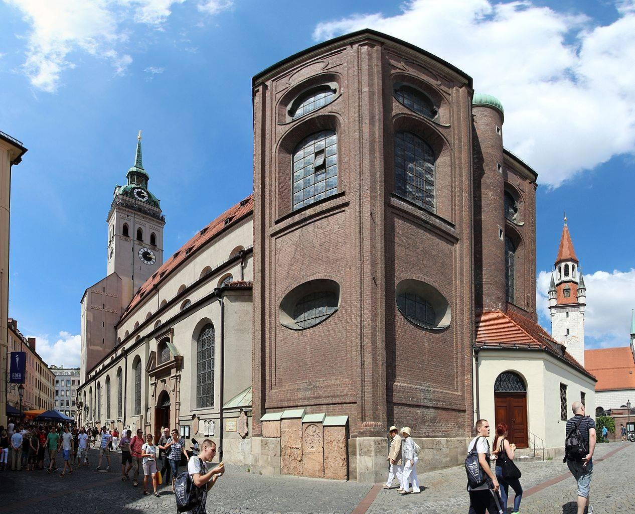 Достопримечательности мюнхена: экскурсия по историческому центру