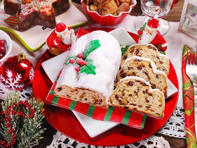 Рождественский штоллен пошаговый рецепт
