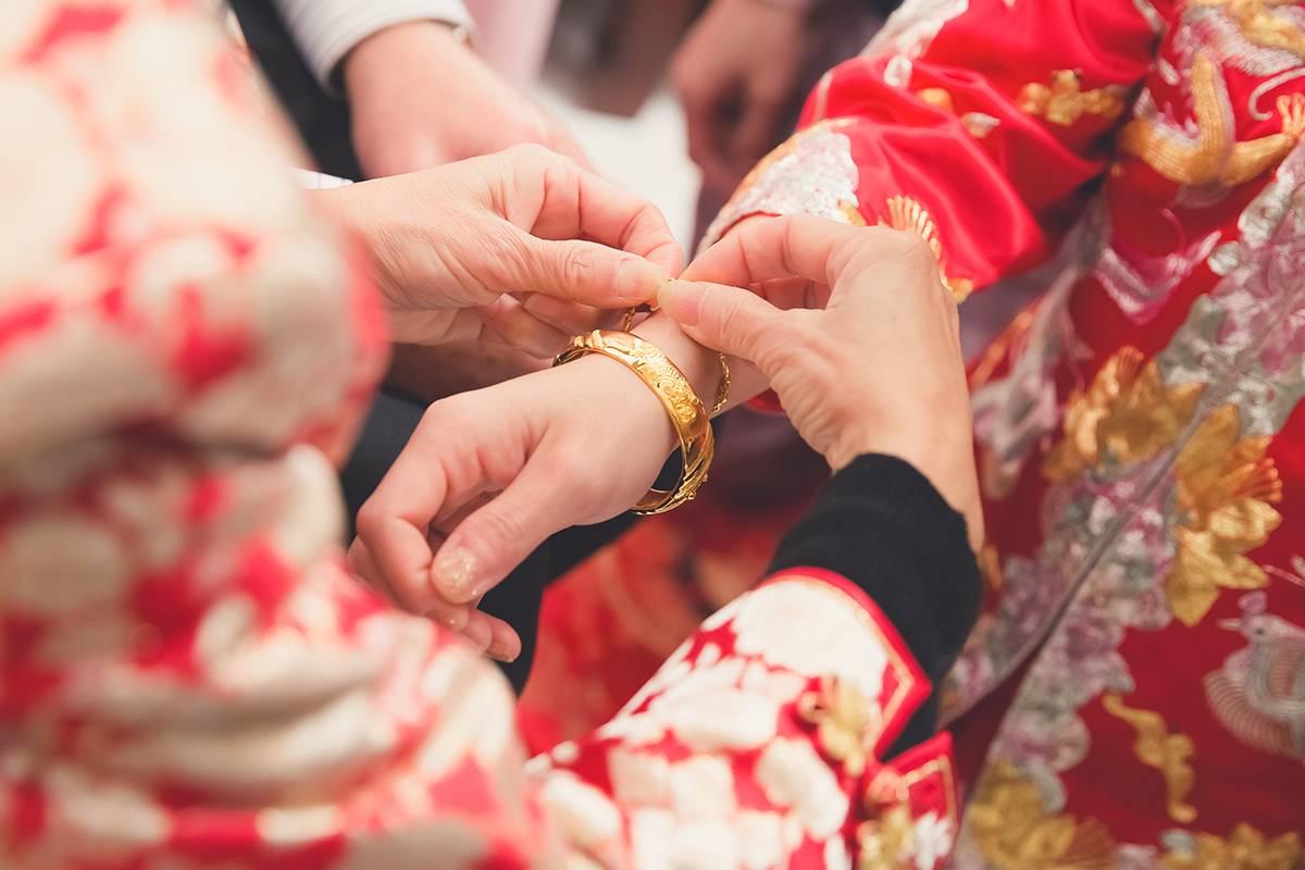 Свадьба в китайском стиле