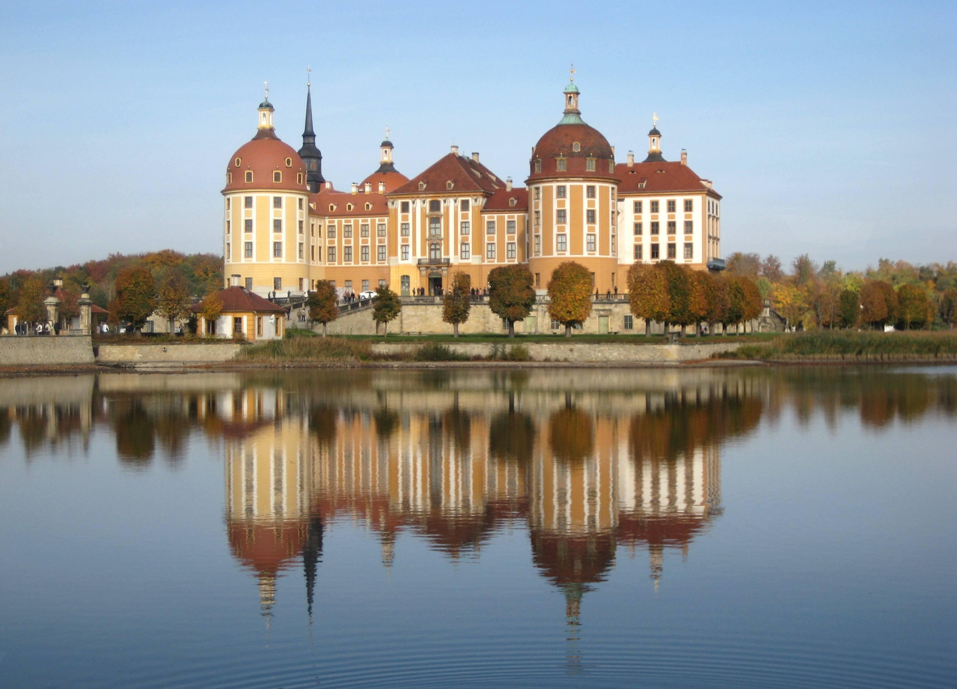 Замок морицбург под дрезденом: почти резиденция золушки