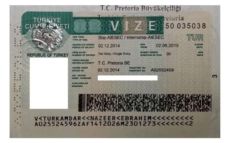 Всё о процедуре получения визы в турцию в 2019 году россиянам и другим иностранцам - стоимость и прочие аспекты