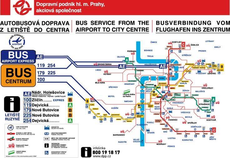 Аэропорт праги рузине: как добраться в центр города, в карловы вары, брно и другие города чехии.