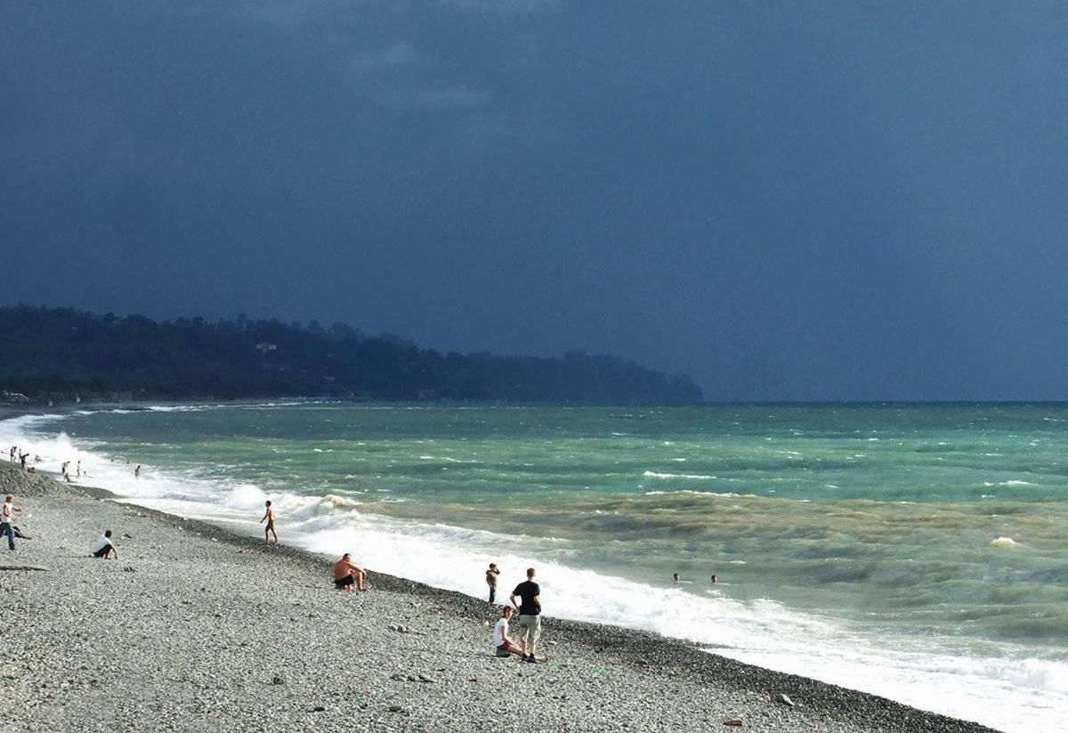 Пляжный отдых в грузии
