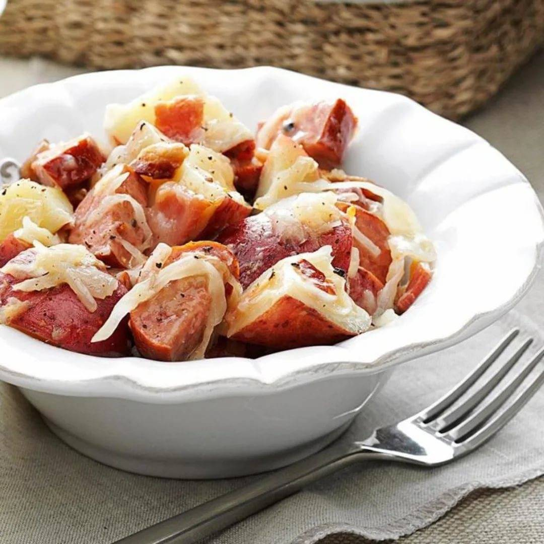 Салат баварский с курицей - шедевр из привычных продуктов: рецепт с фото и видео