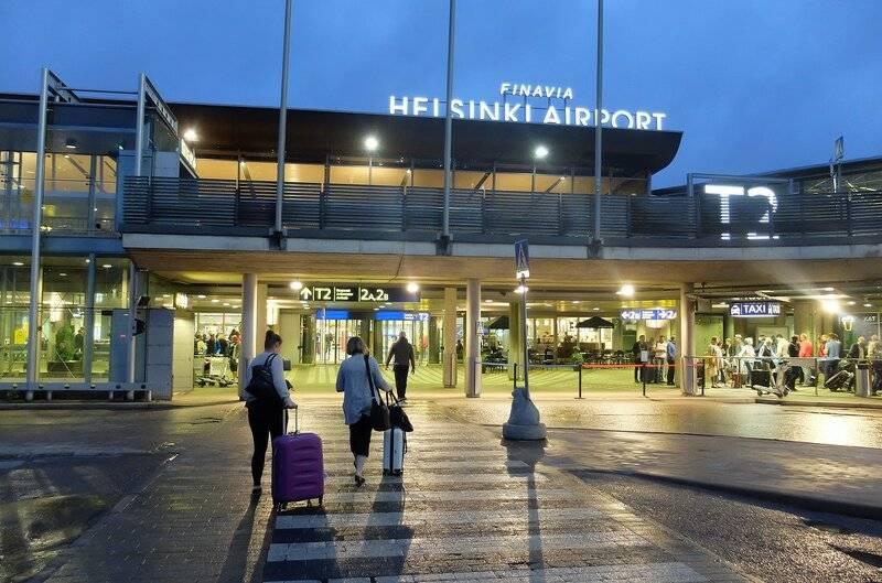 Международный аэропорт в лаппеенранте