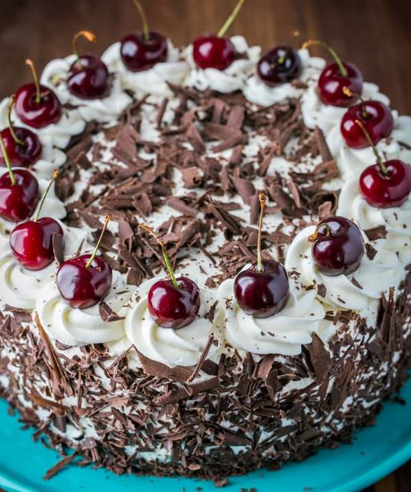 Торт «черный лес» - рецепт классического десерта в германии.
