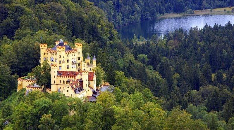 Замок хоэншвангау - баварская сказка
