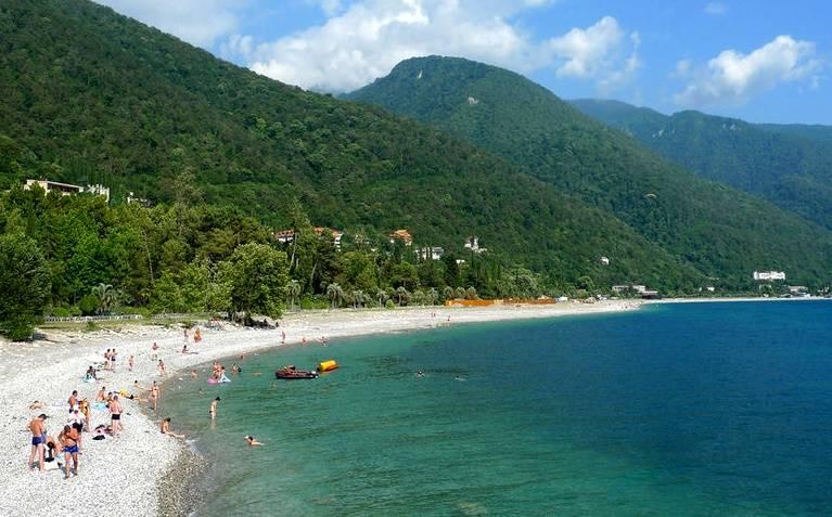 Какие курорты в грузии: море, пляжи и уникальная природа