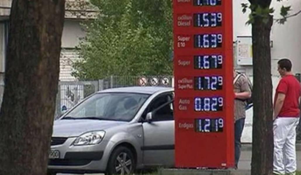 Топливо и особенности заправки автомобиля в европе