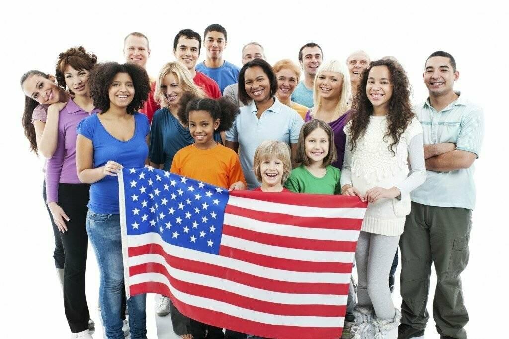 Национальный и расовый состав сша
