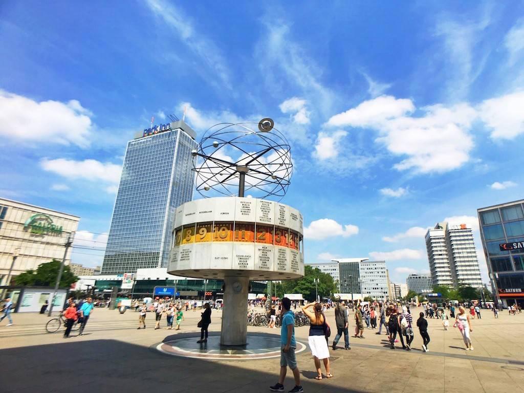Александерплац в берлине – главная площадь страны