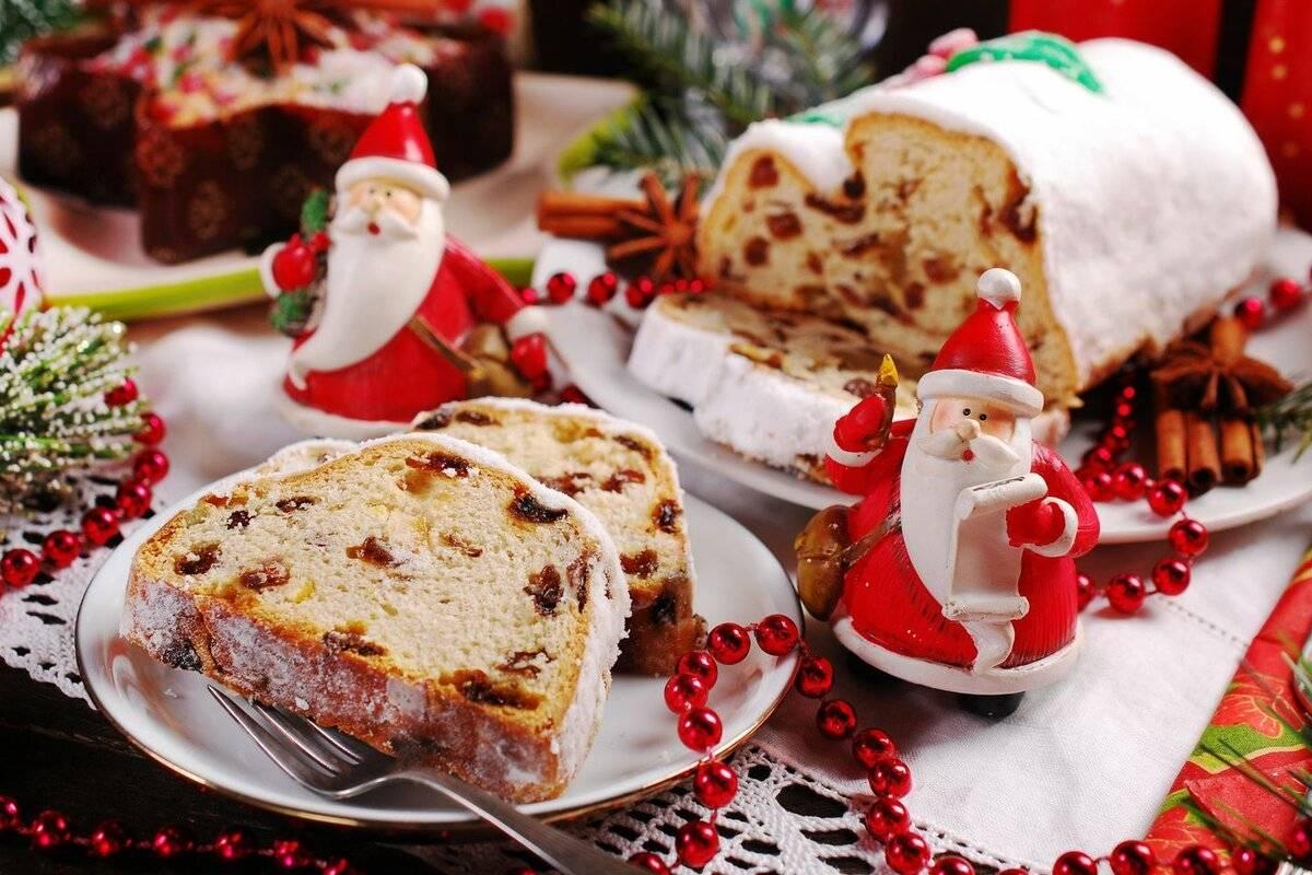 Рождественский штоллен классический рецепт (от моей тёти из баварии)
