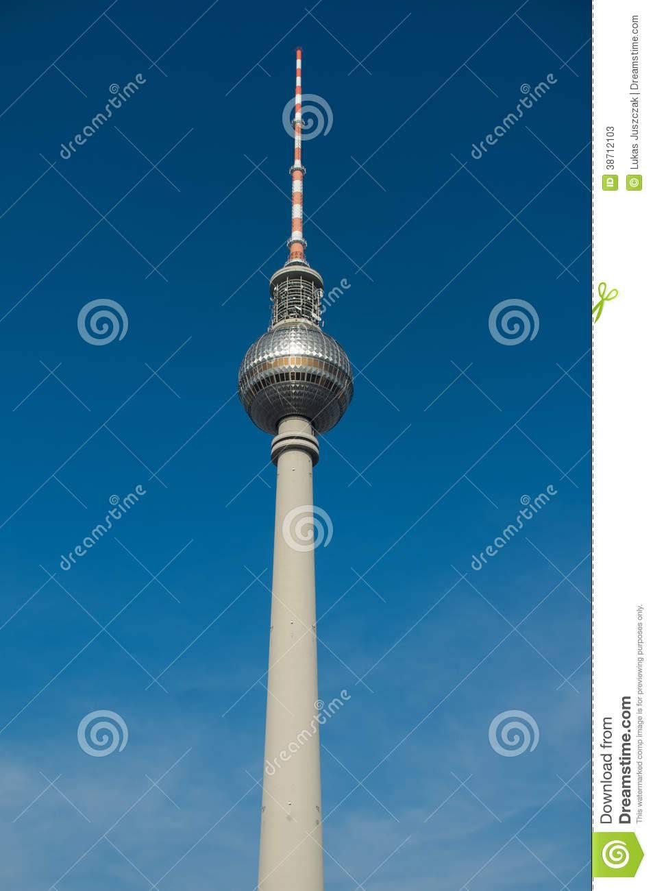Берлинская телебашня (fernsehturm)