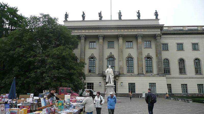 Берлинский университет гумбольдтаhumboldt-universität zu berlin