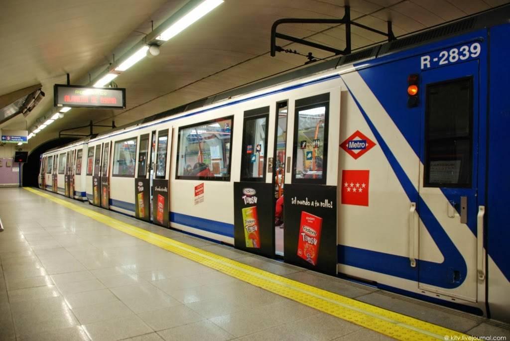 Метро мадрида – схема, цены билетов и особенности